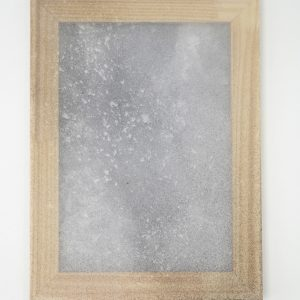 Alessandro Moroder | Untitled (Silk Chiffon #6), 2019. Painting, Enamel and dirt on silk chiffon. Marie Kirkegaard Gallery