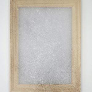 Alessandro Moroder | Untitled (Silk Chiffon #3), 2019. Painting, Enamel and dirt on silk chiffon. Marie Kirkegaard Gallery