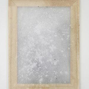 Alessandro Moroder | Untitled (Silk Chiffon #4), 2019. Painting, Enamel and dirt on silk chiffon. Marie Kirkegaard Gallery