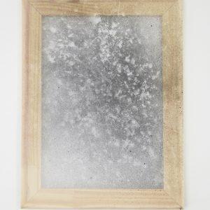 Alessandro Moroder | Untitled (Silk Chiffon #1), 2019. Painting, Enamel and dirt on silk chiffon. Marie Kirkegaard Gallery