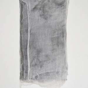Alessandro Moroder | Ten Sheets Of Used Cloth, 2015. Painting, enamel and dirt on cheese cloth. Marie Kirkegaard Gallery