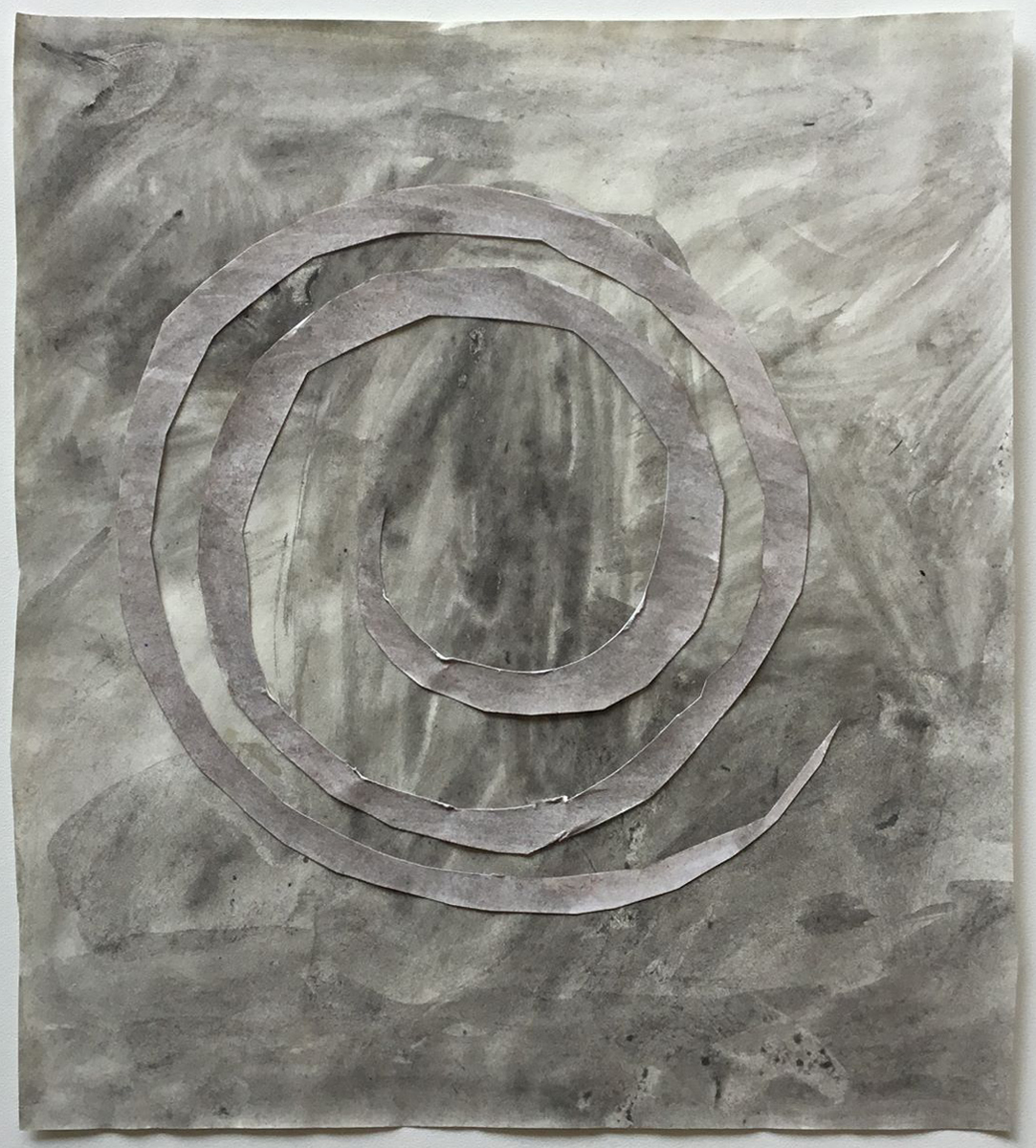 Carl Johan Sennels   Flux #1, 2011. Watercolor on paper, 21x19 cm