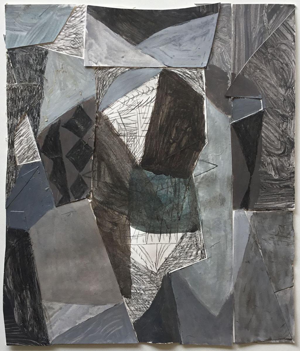 Carl Johan Sennels | Flux #5, 2012. Watercolor, acrylic and pencil on paper, 25x21 cm