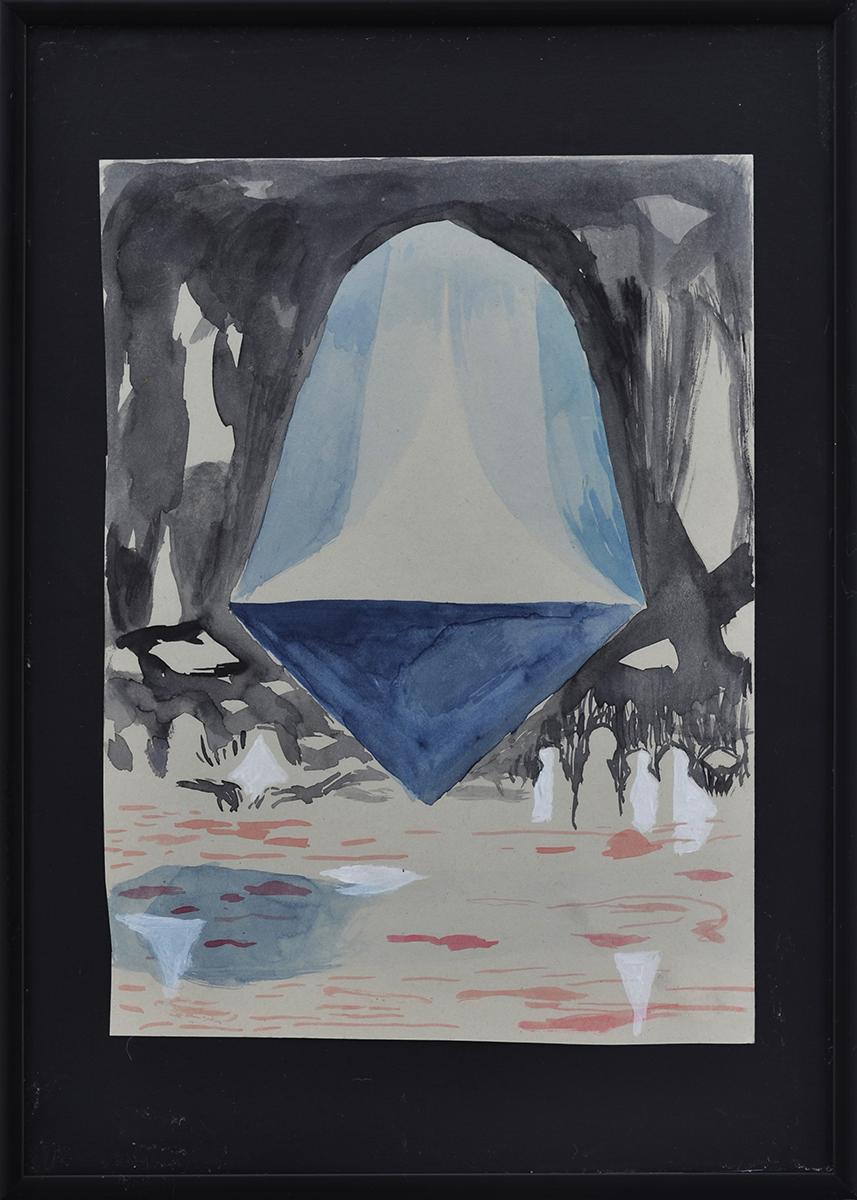 Carl Johan Sennels | I Always Feel Like Shit, 2018. Watercolor on paper, 29,5x21 cm