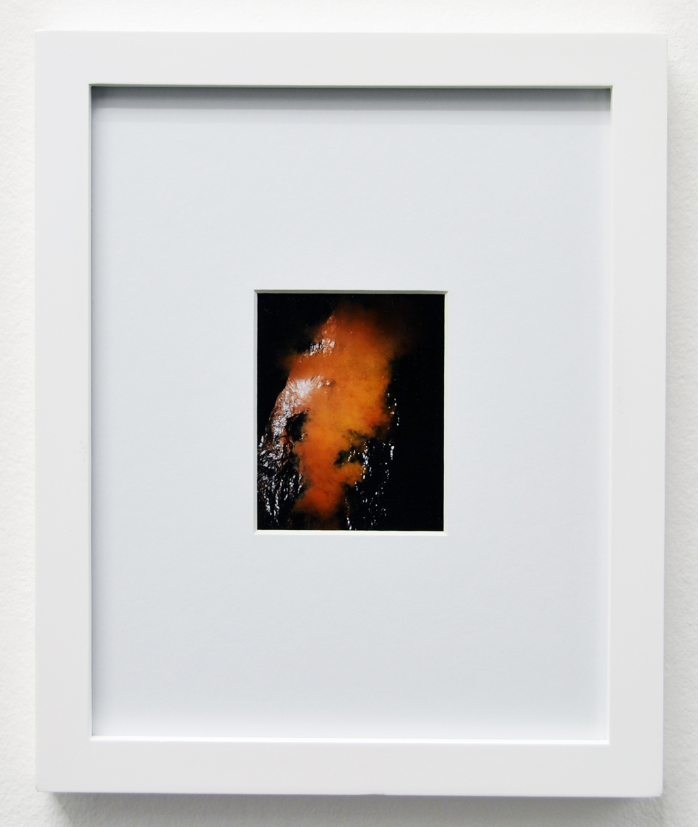 John Knuth | Elevated Uncertainty 24, 2013. Polaroid, framed 25x20 cm