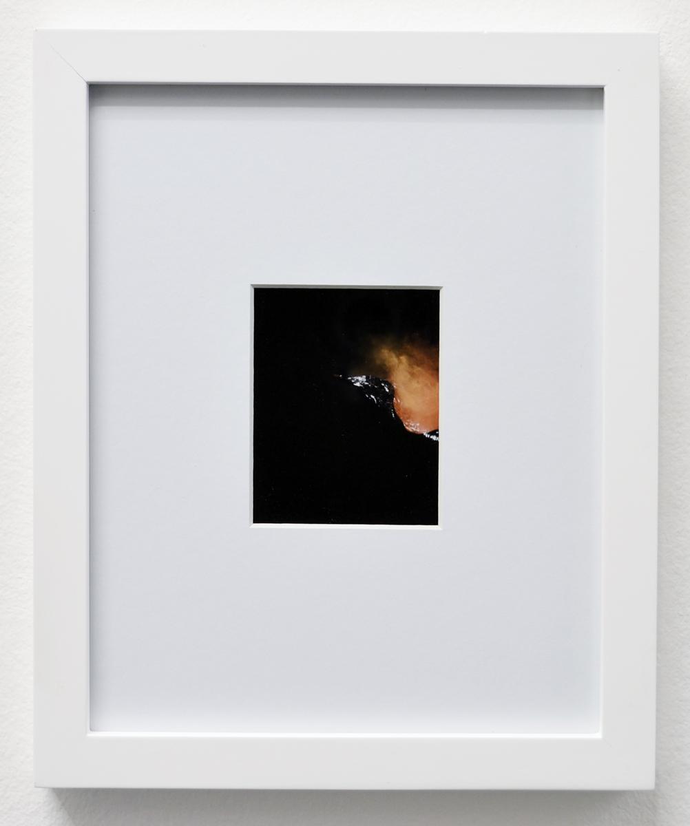 John Knuth | Elevated Uncertainty 25, 2013. Polaroid, framed 25x20 cm