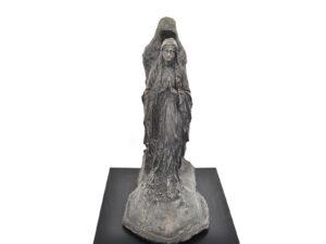 Jon Stahn | Untitled (Ghost on the Highway), 2020. Bronze sculpture. Enter Art fair. Marie Kirkegaard Gallery