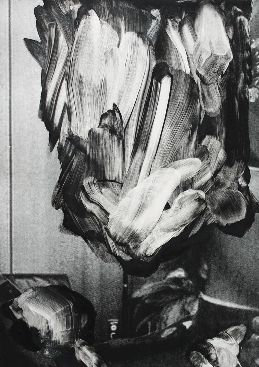 Lars Grenaae | The Ghost, 2017. Monotype, 70x50 cm