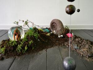 Shabu Shabu – Silas Inoue & Anders Brinch | Love Your Monsters. Installation view, Marie Kirkegaard Gallery 2021